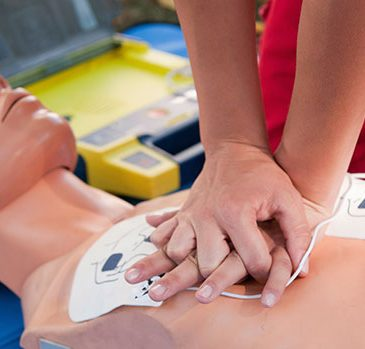 CPR & AED Course with Defibrillator training